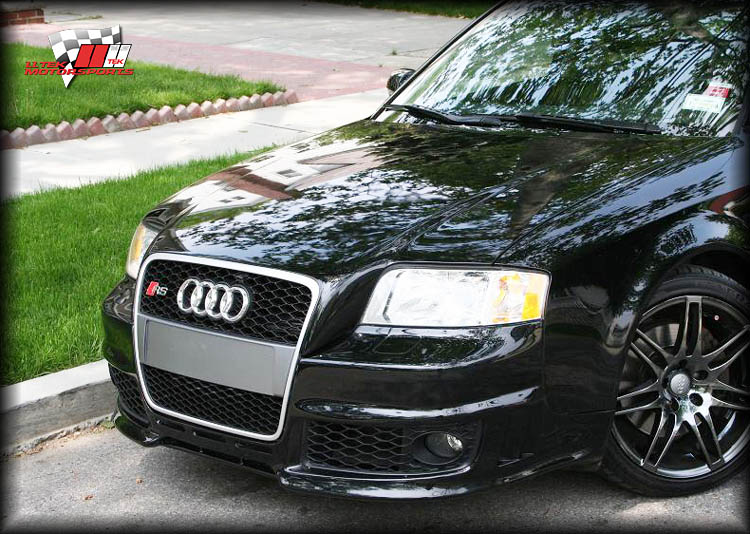 tuner photos of audi a6 body kit styling conversion. Black Bedroom Furniture Sets. Home Design Ideas