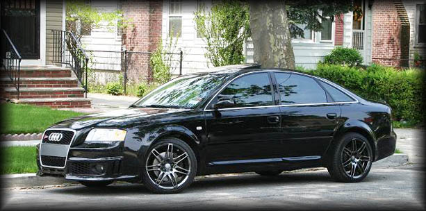 Click and View Images of Completed Body Kit Conversion of Audi A6