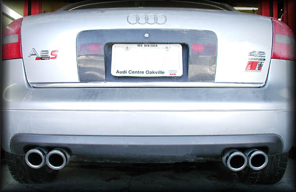 42 Model With Quads Installed: 2006 Audi A6 Exhaust System At Woreks.co