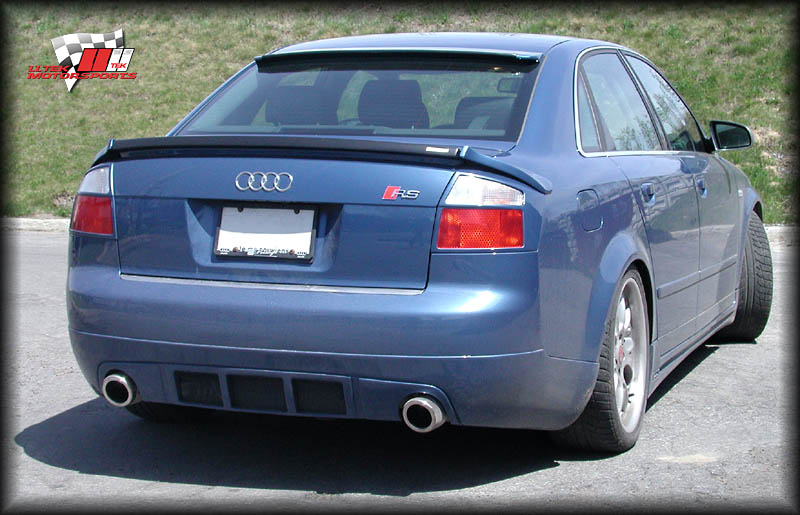 LLTek Documents Body Kit Styling Conversion for the Audi A4 B6