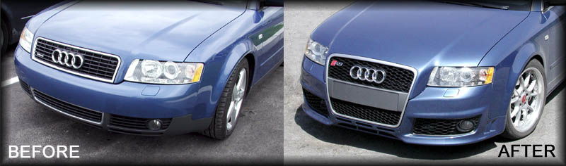 May 24, 2007 - RS4 (B6 to B7) Update Report for Audi A4 and S4