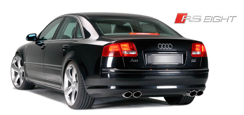 August 7, 2008 - Audi A8 D3 ('03-'05) to S8 Body Kit Conversion with LED's