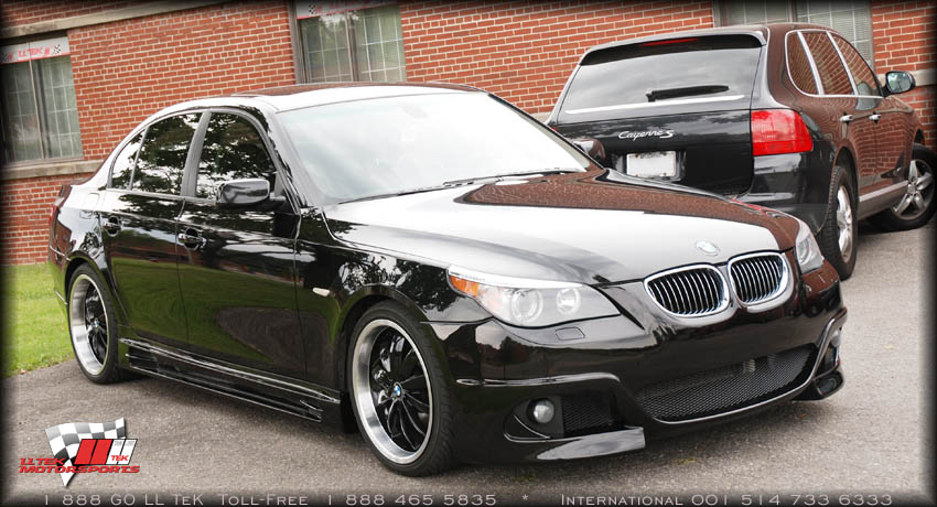 Body Kit Tuning For The BMW I By Rieger LLTeK Press Release - 2008 bmw 545i