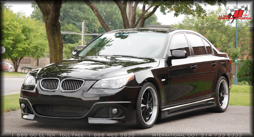 Body Kit Tuning For The Bmw 545i By Rieger Lltek Press