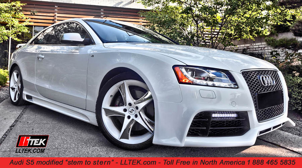 Lltek Rs Styling Grills For Audi A5 And Audi S5 Cars 2007 2018