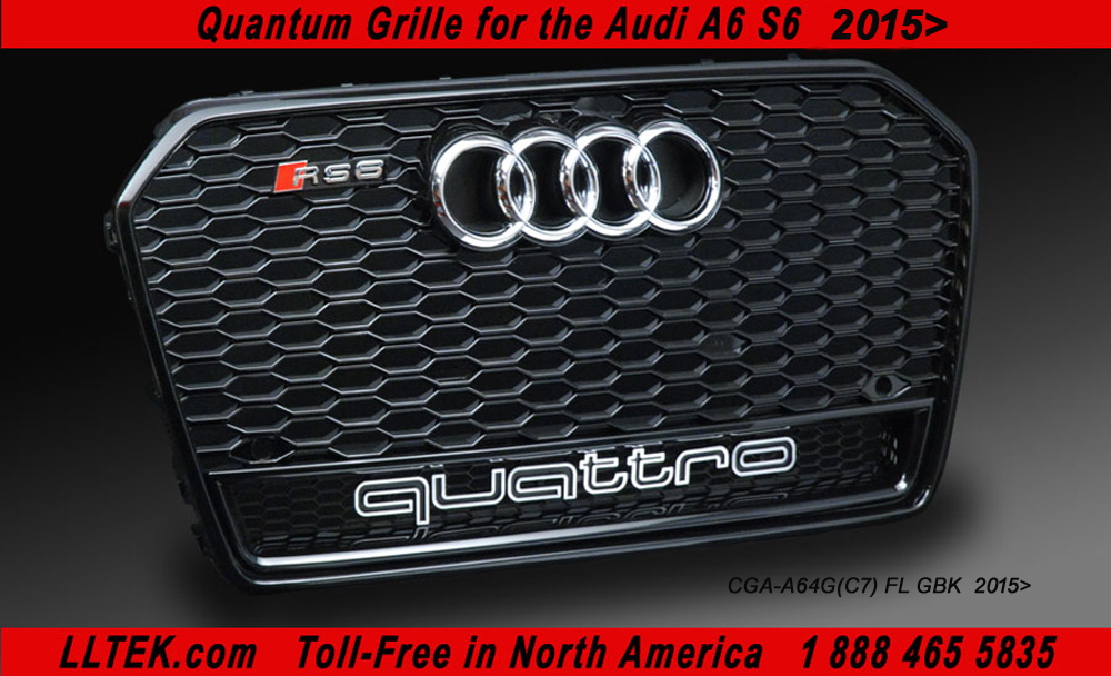 Lltek Replacement Rs Grills For Audi A6 And Audi S6 Cars