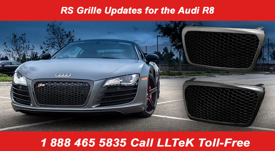 new grilles for the audi r8