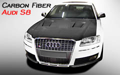 click and view carbon fiber body kit parts Audi S8