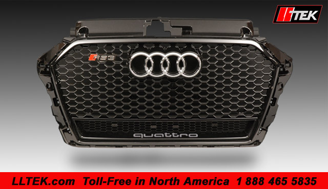 Quantum Piano Black RS Grille for Audi A3 2008 - 2012