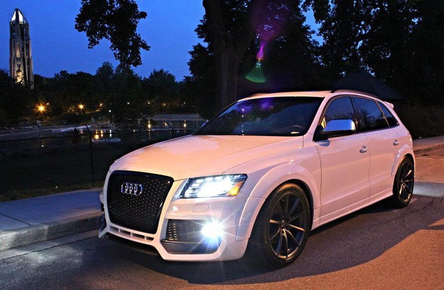 Audi Q5 Body Kit Styling Performance Tuning Index