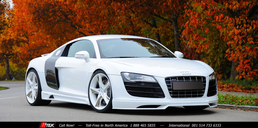 Audi R8 Body Kit Styling Conversion - 4.2 to V10>