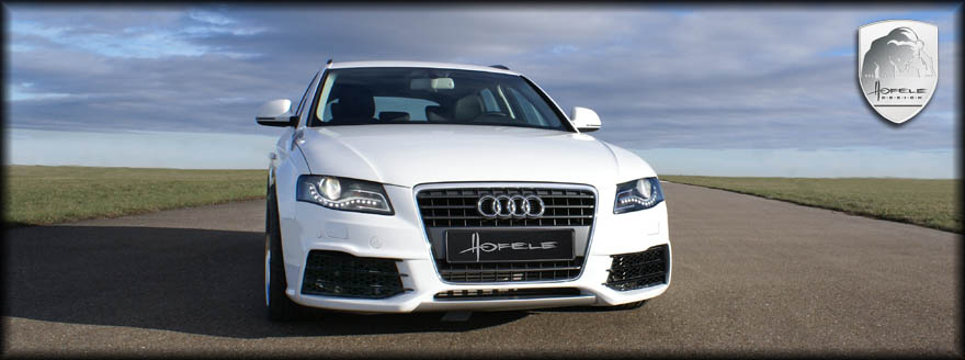 Body Kit Styling | Audi A4 B8 8K | 2009 - 2012 | Hofele