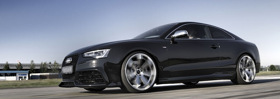 SIDE SKIRTS FOR AUDI A5  V LOOK