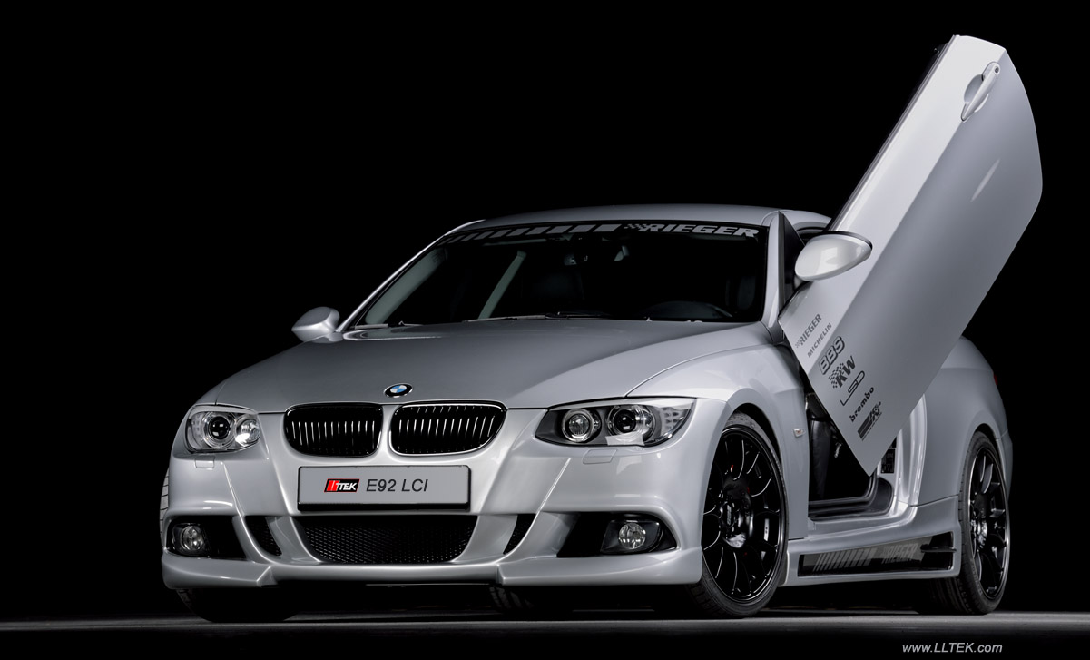 bodykit styling bmw 3 e92 lci facelift rieger tuning. Black Bedroom Furniture Sets. Home Design Ideas