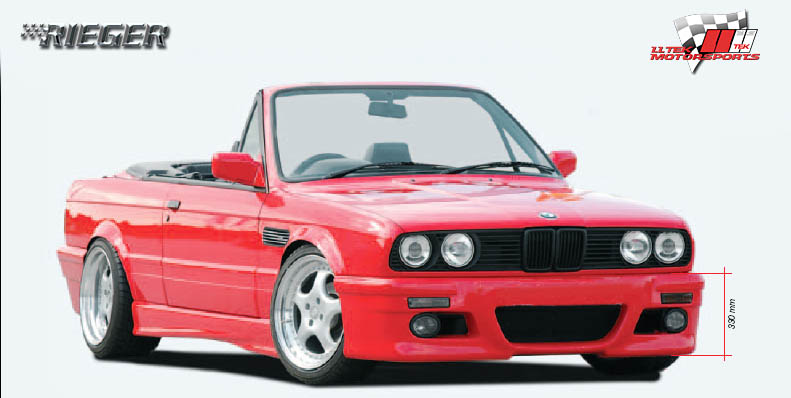 Rieger Bodykit Tuning Wallpaper for the BMW E30