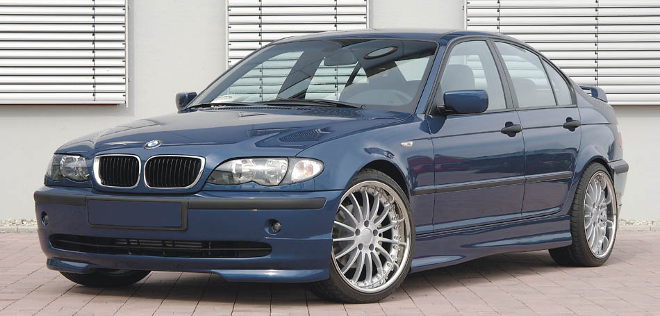 Wallpaper | Bodykit Styling for Facelift BMW E46 | Rieger Tuning