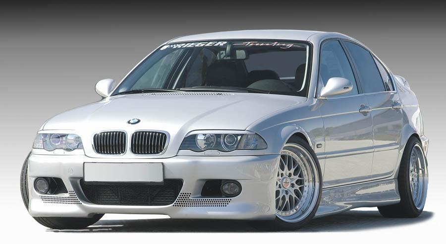 Reiger Bodykit Wallpaper Bmw E46 Sedan 1998 2002