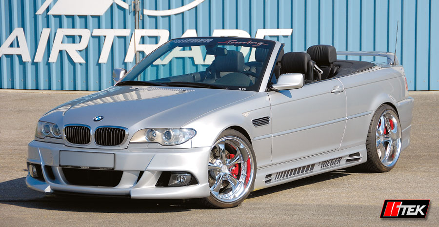Body Kit Styling Bmw E46 Cabrio Facelift Model Rieger