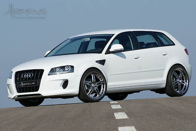 hofele body kit styling facelift audi a3 8pa sportback. Black Bedroom Furniture Sets. Home Design Ideas