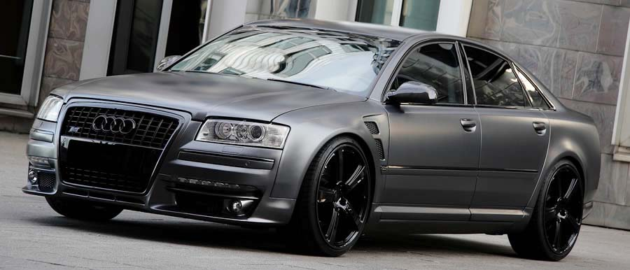 Audi A8 D3 Body Kit Bumper Conversion Styling