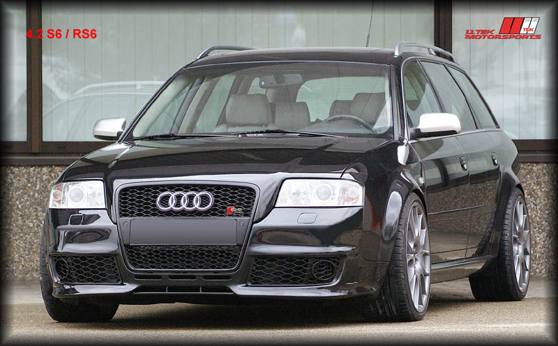 2002 Audi Allroad Quattro 4.2. Widebody 4.2 V8 - note flared