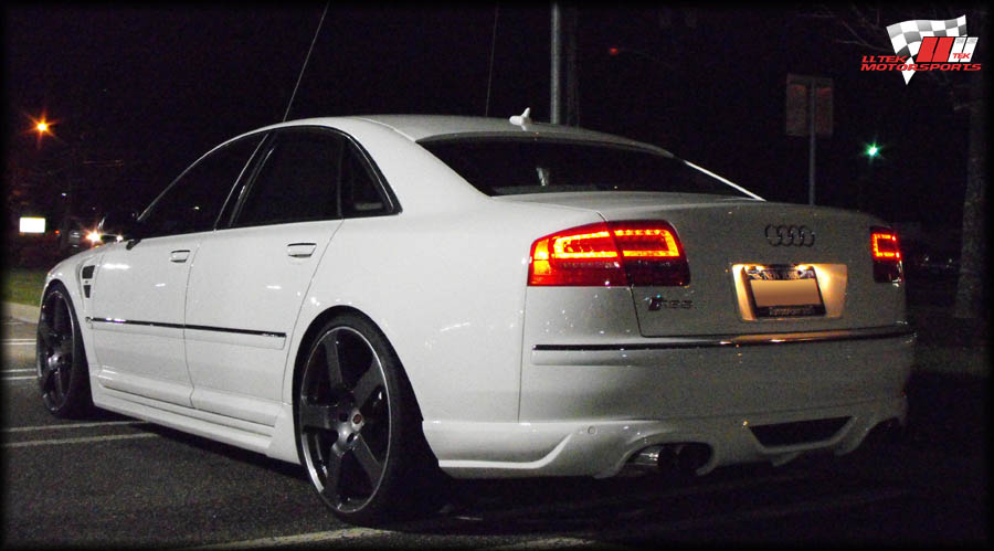 Body Kit Styling for the facelift Audi A8 D3 by Hofele ...