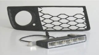 LED Light Kit - Bezel Grills and LED Unit are 2 Separate Items