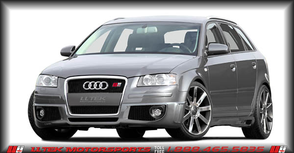 body kit styling parts audi a3 8pa sportback 2005 2008 caractere. Black Bedroom Furniture Sets. Home Design Ideas