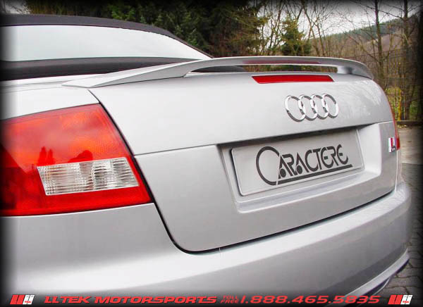 Spoiler On A B7 S4 Cab
