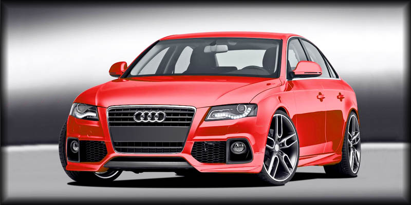 audi s4 b8. Body Kit Styling for the Audi