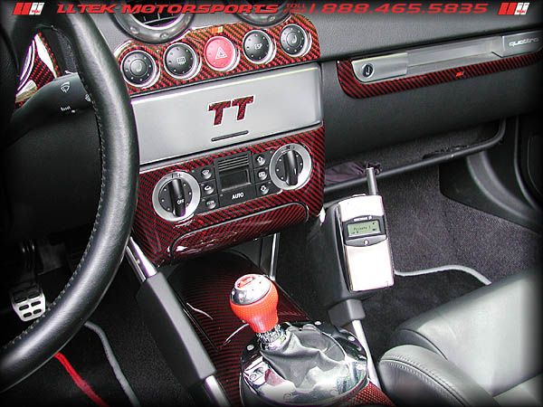 Carbon Fiber Interior Styling For The Audi Tt 8n Cockpit High Performance Tuning From Lltek