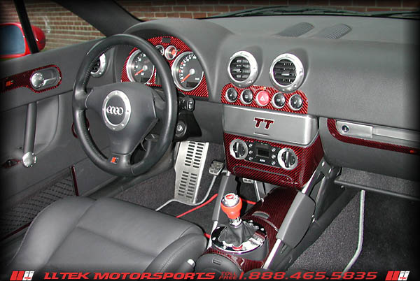 Dash interior trim kit for Audi tt 8n interieur tuning