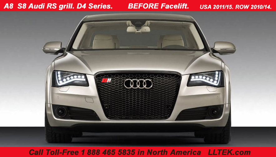 rs grille for audi a8 s8 illustrated