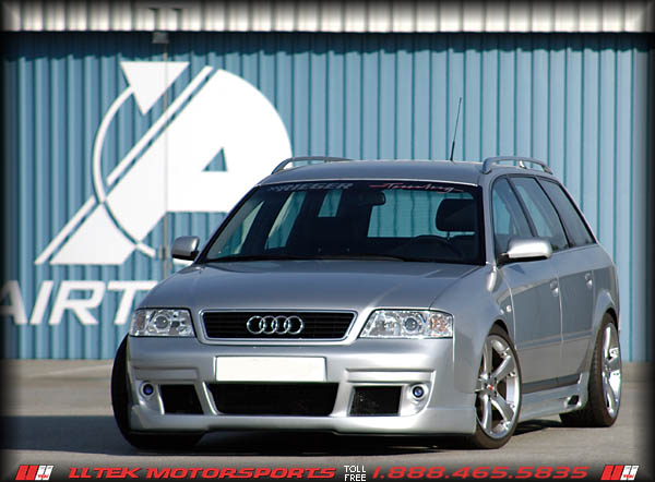 Body Kit Styling And Tuning By Rieger For The Audi A B C Bumper - 02 audi a6