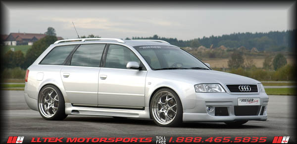 Body Kit Styling And Tuning By Rieger For The Audi A6 4b C5 Bumper