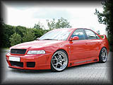 Rieger RSFour Front Bumper and V3 Side Skirts
