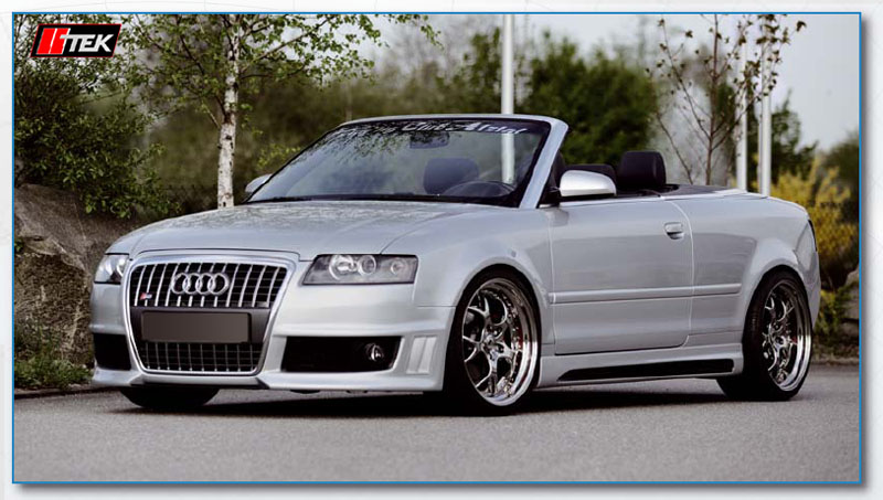 Body Kit Styling Audi Cabriolet A4 8h 2003 2006 Rieger Tuning