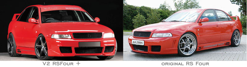 Body Kit Styling Audi A4 B5 1996 2001 Rieger Tuning