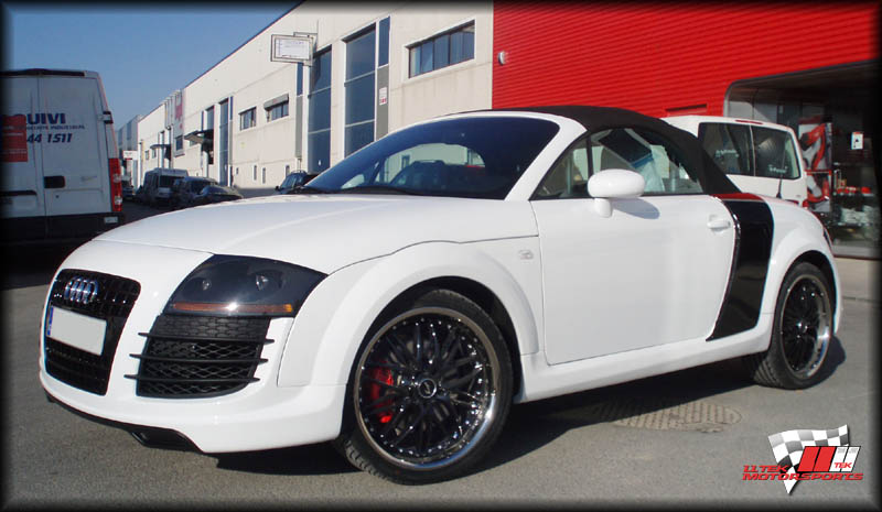 Body Kit Styling For Audi Tt 8n High Performance Tuning