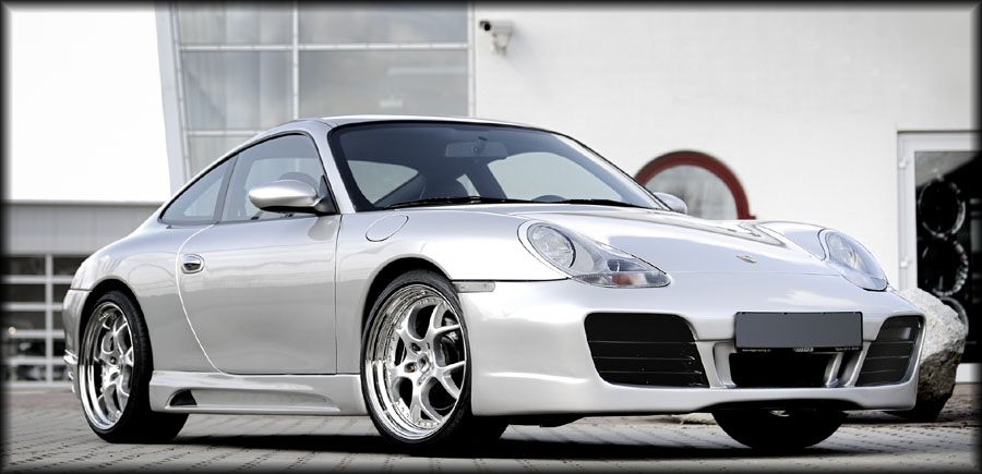 Porsche Boxster 986 Body Kit. image - rieger ody kit for