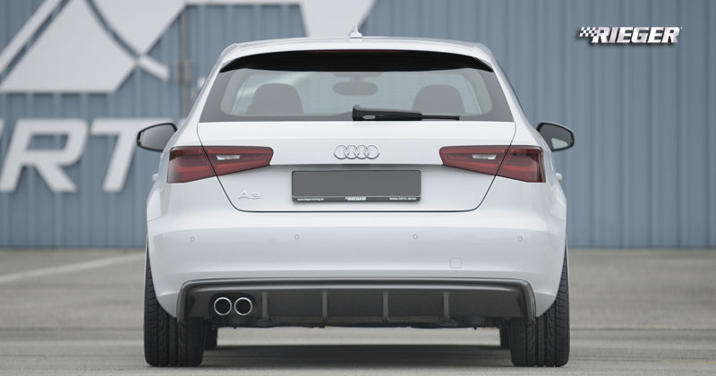 Audi A3 8v Kit Styling Rear Bumper Modification Rieger