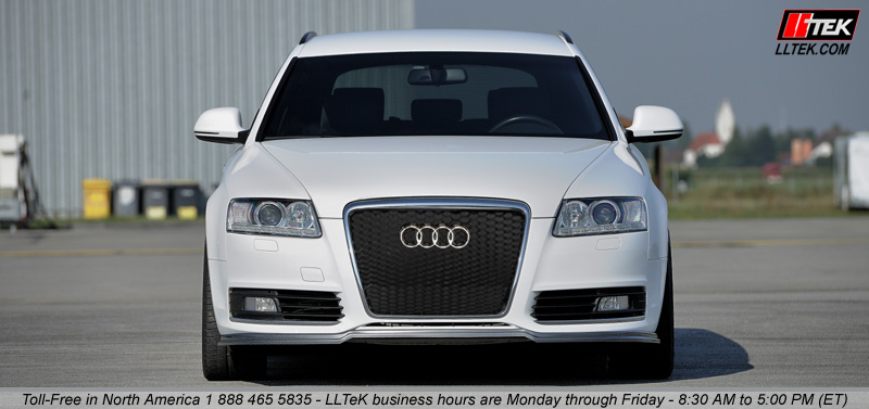 Audi A6 C6 With Illustrated Quantum Rs Grille