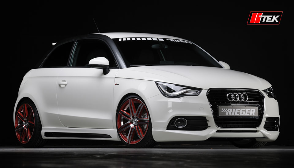Overall Perspective Of Audi A1 Bodykit Styling By Rieger