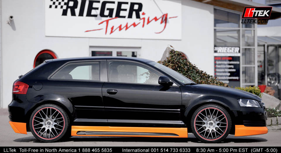 Aftermarket Parts Styling Audi A3 8p Preface Rieger