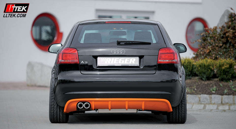 Audi A3 2008 >> Audi A3 8P 3-door | Rear Bumper styling | replacement ...