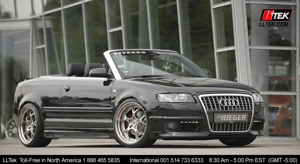 Audi A4 Cabriolet 2003 2006 Rieger Bodykit Tuning