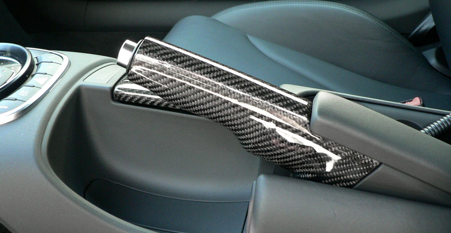 Carbon Fiber Handbrake Handle Audi R8