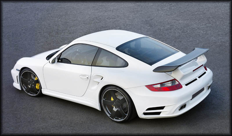 Body Kit For Porsche 997 Turbo By Mansory 09