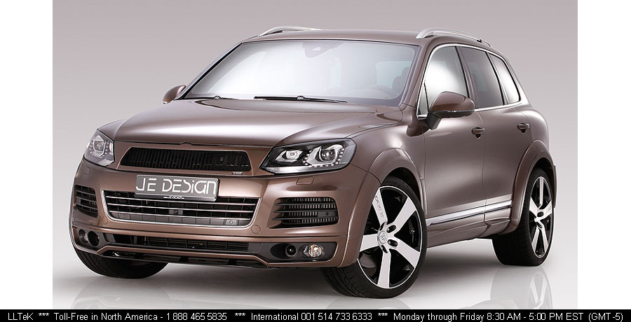 Body Kit Styling for the VW Touareg 2012 R-Line by JE DESIGN